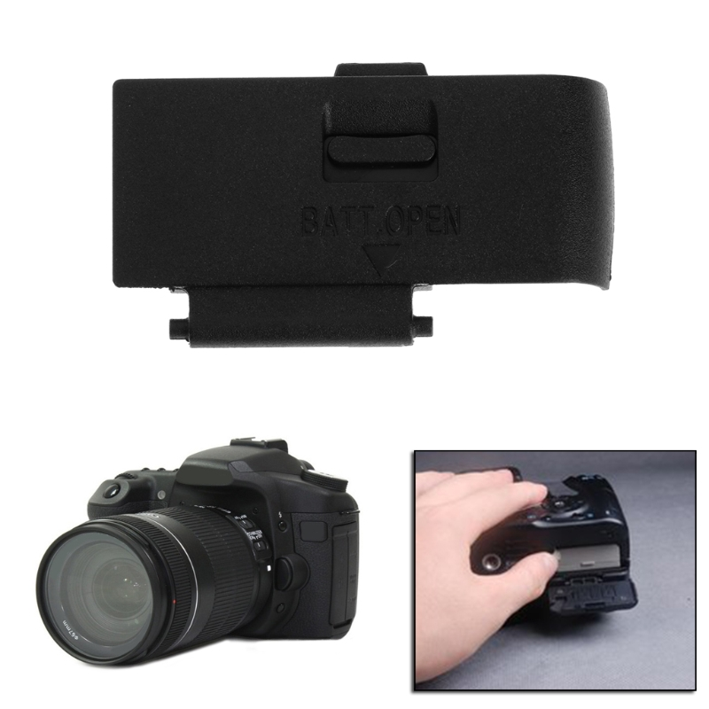 Battery Cover Lid Snap Cap Replacement <font><b>Parts</b></font> For <font><b>Canon</b></font> <font><b>EOS</b></font> <font><b>550D</b></font> Camera <font><b>Repair</b></font> LX9A image