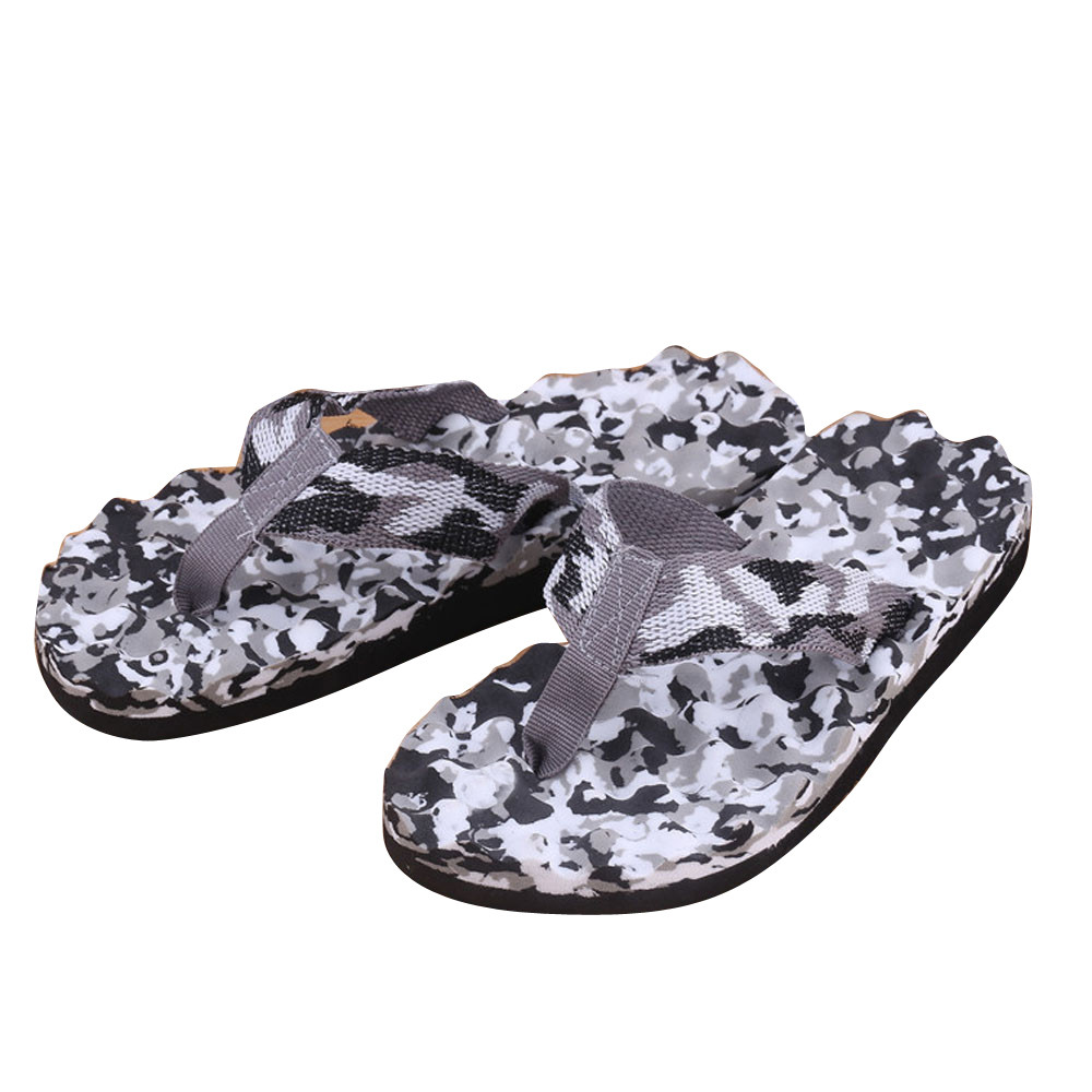 Men Shoes Slipper Sandals Flip-Flops-Shoes Camouflage Outdoor Fashion High-Quality Summer