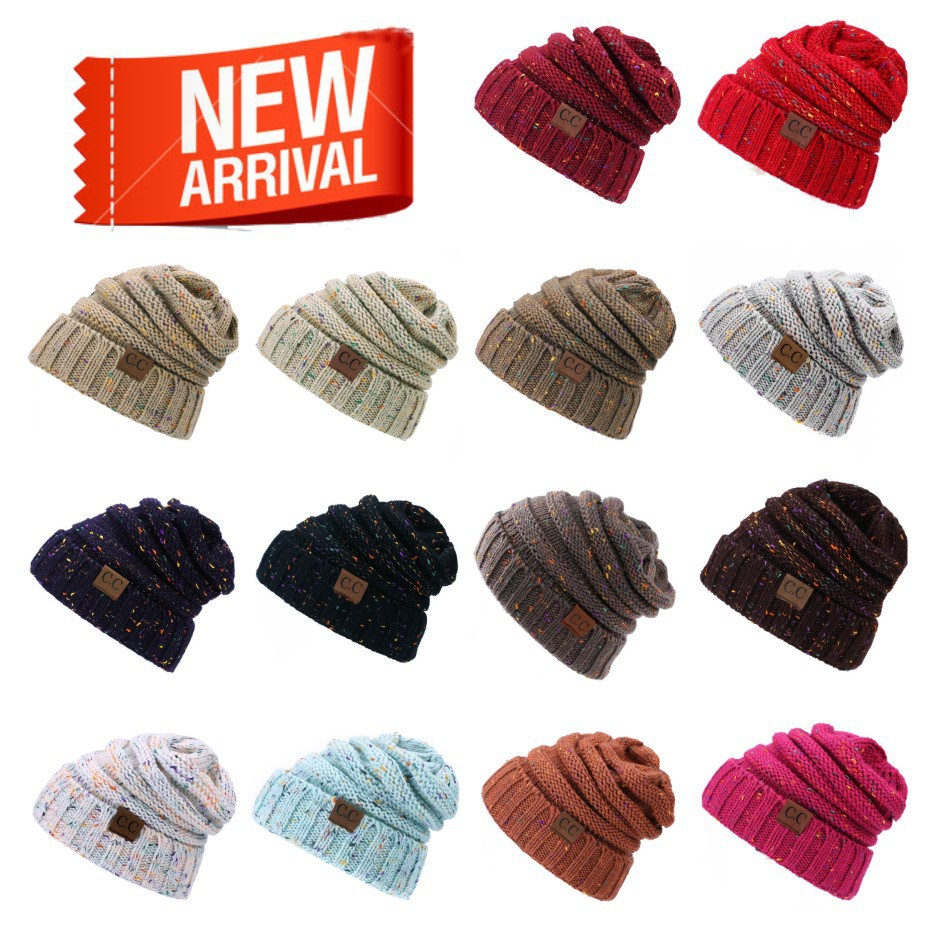 Knitted Hats Women New And Of For Manufacturers Spot-Supply American-Cc-Label European