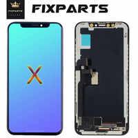 AAA + + + pour iPhone X XS XR Max OLED avec assemblage de numériseur tactile 3D