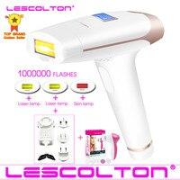 Original lescolton 1000000 vezes 4in1 depilador a laser ipl depilador depilação lcd máquina laser permanente biquíni|Depiladores| |  -