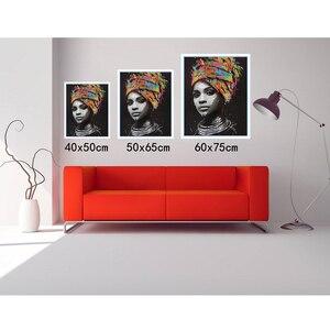 Image 2 - תמונה אישית ציור על ידי מספר DIY שמן ציור תמונת ציור בד צביעה על ידי מספרי משפחה תמונות