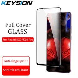 KEYSION szkło hartowane dla Xiao mi mi 9T Pro mi 9 SE A3 osłona na ekran ze szkła hartowanego pełna pokrywa dla czerwonego mi K20 Pro uwaga 8 8A 7A