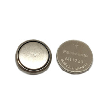 12pcs/lot New Battery For Panasonic ML1220 3V ML 1220 Rechargeable CMOS RTC BIOS Back Up Cell Button Coin Batteries