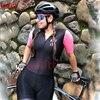 Kafitt verão novo de manga curta ciclismo wear terno macacão feminino triathlon ciclismo wear mountain bike macaquinho 22