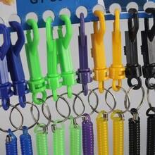 12 шт выдвижные Брелоки для ключей разных цветов