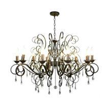 現代クリスタルシャンデリア10ライトブラッククリスタル雨滴装飾大のシャンデリアホーム照明屋内ランプ