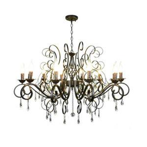 Image 1 - Moderne Kristallen Kroonluchter 10 Licht Zwart Kristal Raindrop Decor Grote Kroonluchters Voor Woonkamer Home Verlichting Indoor Lamp