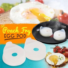 Silicone Egg Frying Ring Circle Shape Eggs Fried Poach Non Stick Fried Egg Mold Cooking Tools Kitchen Tools & Gadgets