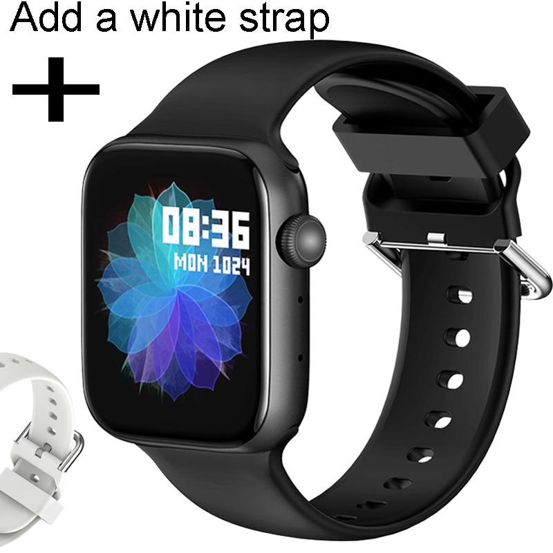 add White strap