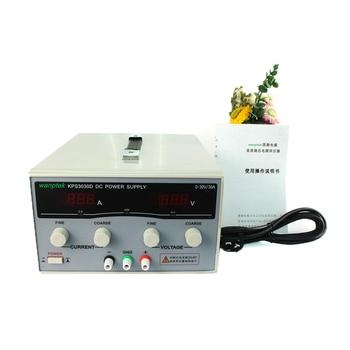 цена на Hot KPS3030D High precision High Power Adjustable LED Dual Display Switching DC power supply 220V 30V 30A 220V/110V