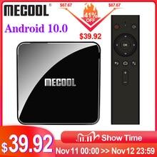 Mecool KM3 Atv Google Gecertificeerd Tv Box Android 10 Tv Box 4Gb 64Gb Amlogic S905X2 9.0 KM9 Pro 4Gb 32Gb Androidtv 4K Dual Wifi Doos