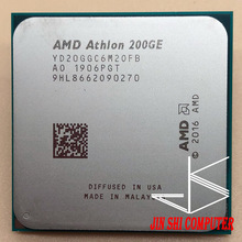 Amd Athlon 200GE X2 200GE 3.2 Ghz Dual-Core Quad-Draad Cpu Processor YD200GC6M2OFB Socket AM4 Geen Ventilator
