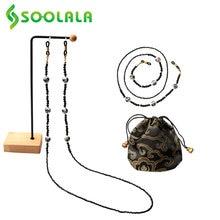 Soolala Для женщин очки цепочка для солнцезащитных очков рельсового