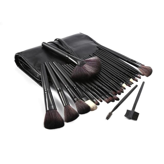 32 Pcs/lot Makeup Brushes Set For Foundation Powder Blush Eyeshadow Concealer Lip Eye Make Up Brush Pink Cosmetics Tools TSLM1 3