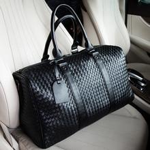 Male Black Large Capacity Travel Bag Travel Duffle Bag Women Waterproof Leather Hand Luggage Bags Short Trip Men Sports Package