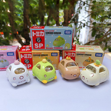 TarakaTomy Alloy Car Model Corner Bio Sumikko White Bear Yellow Cat Penguin Fried Pork Chops Children Gift
