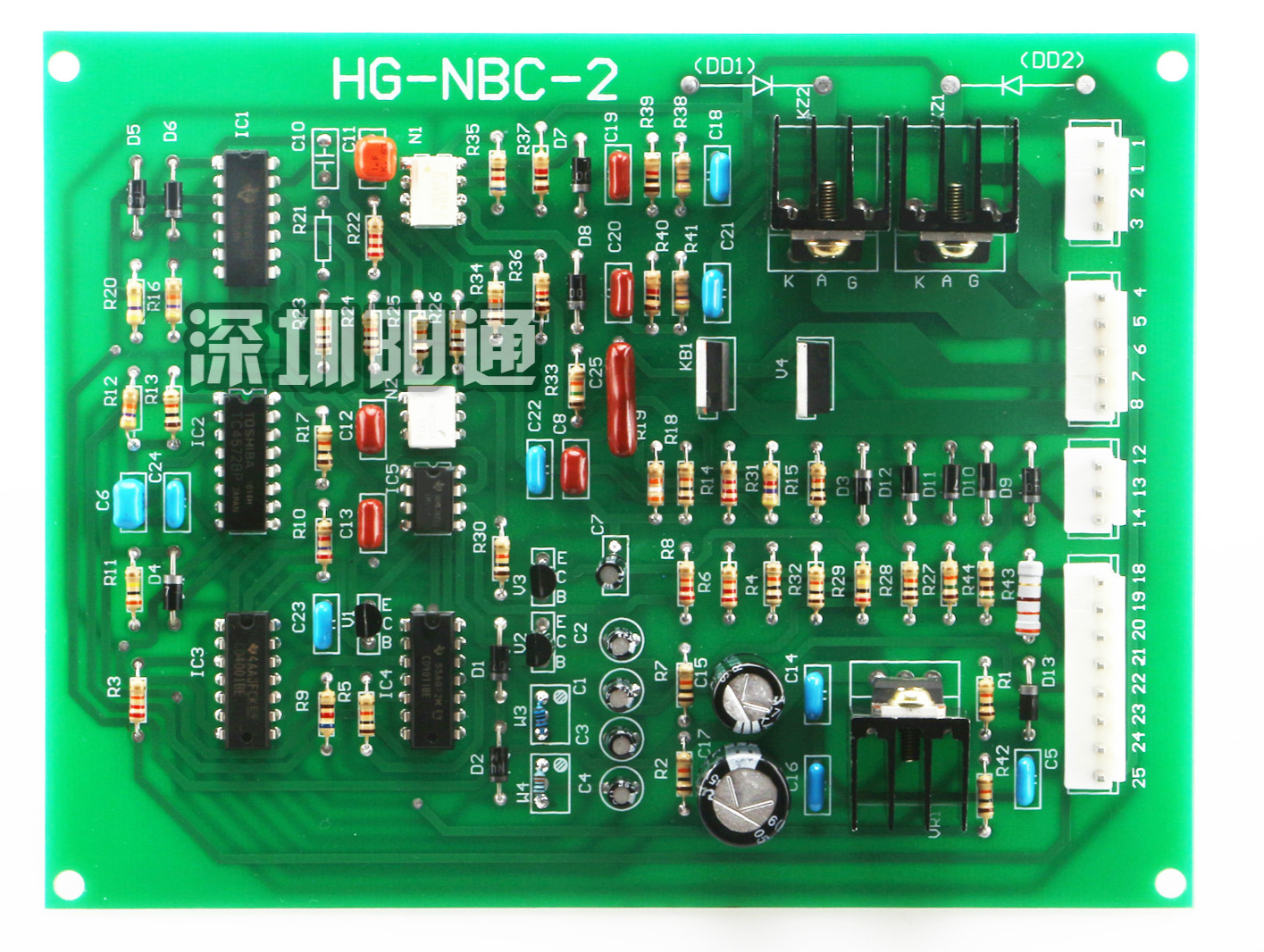 NBC Tap Control Board 250/300/350/315 Two Welding Machine Main Control Board Circuit Board