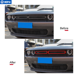 Image 2 - MOPAI Car Grille Air conditioning Vent Decoration Cover Stickers for Dodge Challenger 2015+ Exterior Accessories