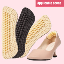 3 Pairs 4D Massage Anti-blister Heel Cushions Silicone Heel Pads for High Heels Flats BHD2
