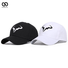 Rafael Nadal Baseball Cap New 100% Cotton Tennis Player No Structure Dad Hat Men Women Snapback Caps bone Embroidery Hats.
