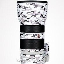 Autocollant de peau de décalcomanie de lentille pour Sony FE 100 400 F4.6 5.6 GM protecteur anti rayures