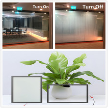 SUNICE PDLC Smart Film Privacy Electric Smart Glass Switchable Adhesive Window Tint for Home, Office Customer Custom