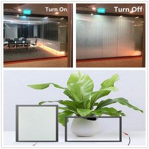 Image 1 - SUNICE PDLC חכם סרט פרטיות חשמלי חכם זכוכית להחלפה דבק חלון גוון עבור בית, משרד לקוחות מותאם אישית