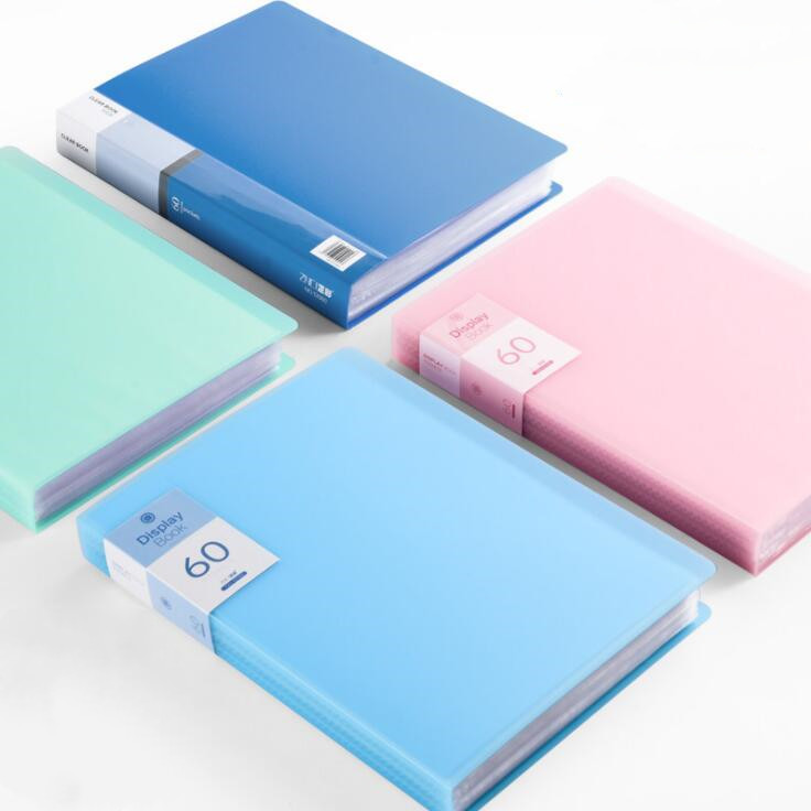 30 60 80 Pages A4 File Folder Music Examination Paper Organizer Storage Bag Desk Document Bags Sheet Protectors Case Stationery