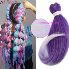 AILIADE Crochet Hair Synthetic Hair African Afro Jumbo