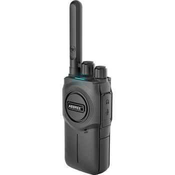 2pcsabbree ar-u1 mini walkie talkie portable radio station bf-888s uv-5r two way radio uhf band radio communicator 400-480mhz