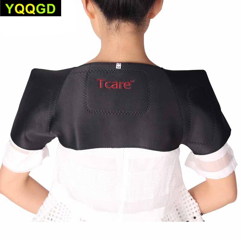 Tourmaline Self-heating Shoulder Support Massager Magnetic Cervical Frozen Shoulder Pad Massage