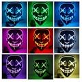 Для клиентов из США 44 цвета Хэллоуин СВЕТОДИОДНЫЙ тушь для ресниц костюм DJ вечерние светильник светящийся в темноте
