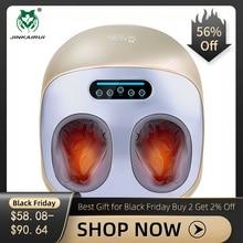 電動バイブレーターフットマッサージャー健康ケアマッサージ赤外線加熱治療指圧混練空気圧機 JinKaiRui
