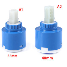 Valve Kitchen Bathroom Cartridge Valve Mixer Tap Repalce Accessories 35/40mm New Ceramic Cartridge(China)