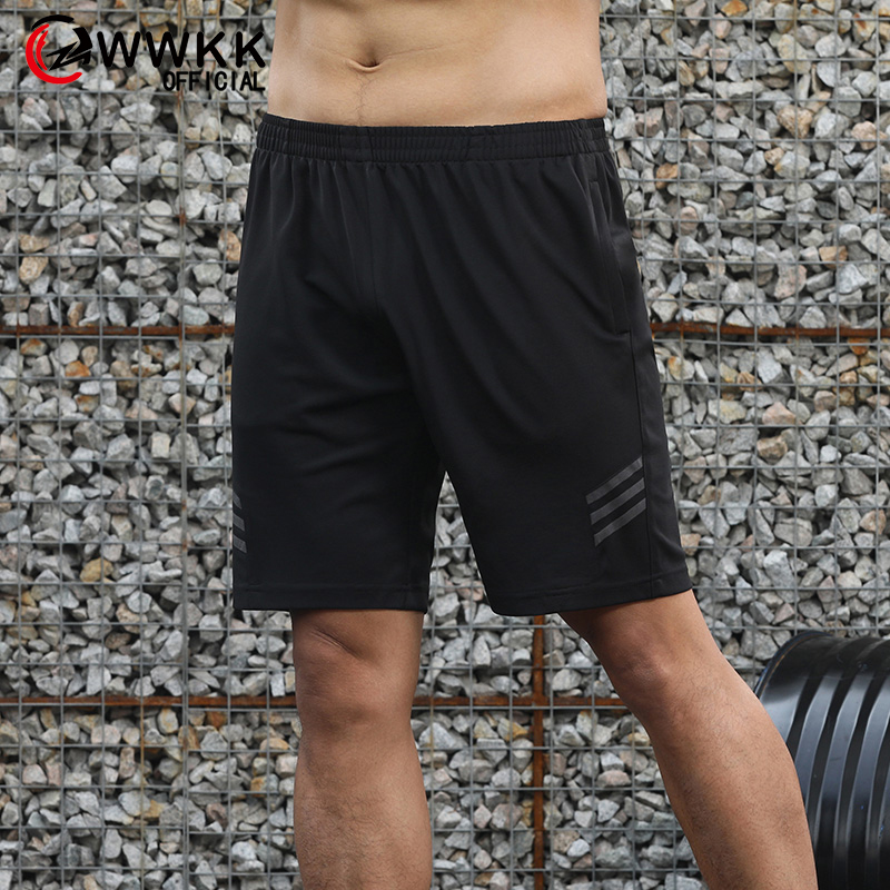 Striped Shorts Men Summer Men's Sportswear Casual Boardshorts Man Pocket Quick-drying Sports Mens Short Trousers New Fashion