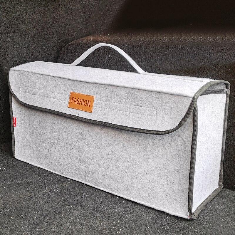 Araba gövde organizatör dayanıklı araba saklama çantası kargo konteyner kutusu yanmaz Stowing Tidying tutucu çok cep araba aksesuarları
