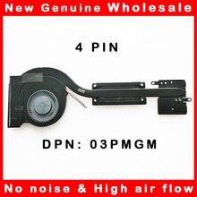Кулер для охлаждения процессора ноутбука, радиатор для Dell Latitude 7450 E7450 03PMGM 3PMGM AT148001ZSL