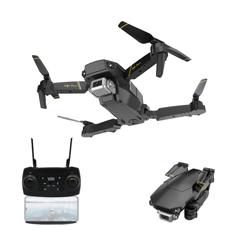 Global Drone Quadcopter Camera Altitude-Hold-Mode GD89 Foldable WIFI FPV 1080P HD