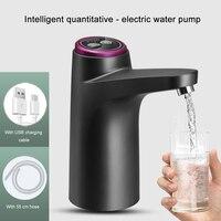 Mini bomba eléctrica de agua con Interruptor táctil, dispensador de agua portátil automático con carga USB