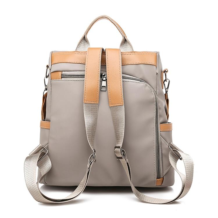 H7941cd43e8f9437b85039f6a12d32264I Anti-theft women backpacks ladies large capacity backpack high quality bagpack waterproof Oxford women backpack sac a dos