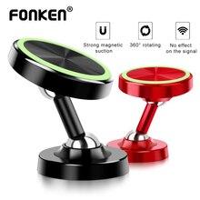 FONKEN Luminous Phone Car Holder Two Way Adjust Car