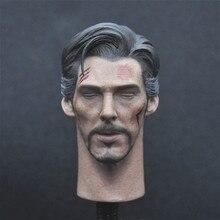 Просто Игрушка 1/6 доктор стрэнг голова лепить близкие глаза версия для 12 дюймов фигурку DIY