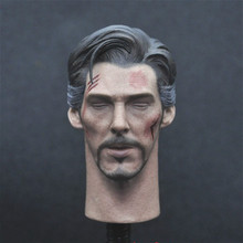 JUST A TOY 1/6 Doctor Strang Head Sculpt Close Eyes Version for 12inch Action Figure DIY