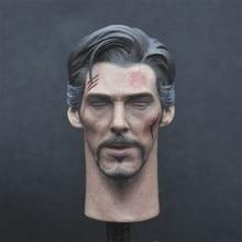 NUR EIN SPIELZEUG 1/6 Arzt Strang Kopf Sculpt Schließen Augen Version für 12 zoll Action Figure DIY