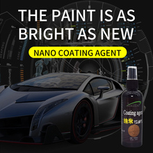 Crystal Ceramic Car Coating Paint Care Nano Hydrophobic Coating Waterproof High Gloss Luster Liquid Polishing Wax
