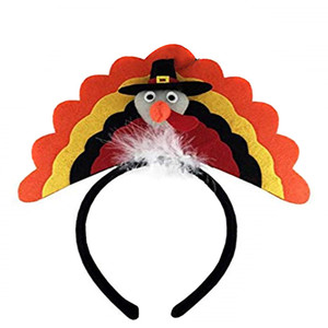 Hair accessories for girls clips Thanksgiving Decoration Turkey Headband Costume Headband Party Accessory High Quality Hair Band