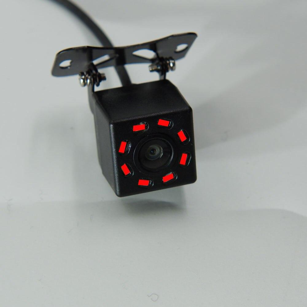 BYNCG Автомобильная камера заднего вида Универсальная 12 Светодиодный ночного видения дублирующая для парковки заднего вида камера Водонепроницаемая 170 широкоугольная HD цветное изображение - Название цвета: Синий