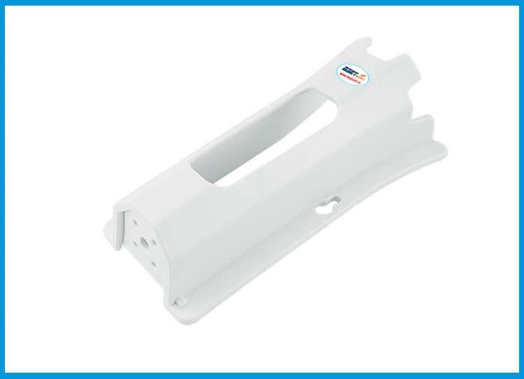 Soporte de caña de pescar de plástico ABS soporte de caña de pescar ligero portátil accesorios giratorios soporte de montaje de tubo duradero