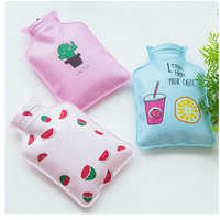 Mini Cartoon Hot Water Bottle Korean Version Of The Small Fresh Water Injection Explosion-proof Children's Student Hand Warmers